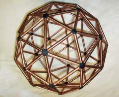 The Two-Frequency Icosahedron or 2V Geodesic Sphere2-3