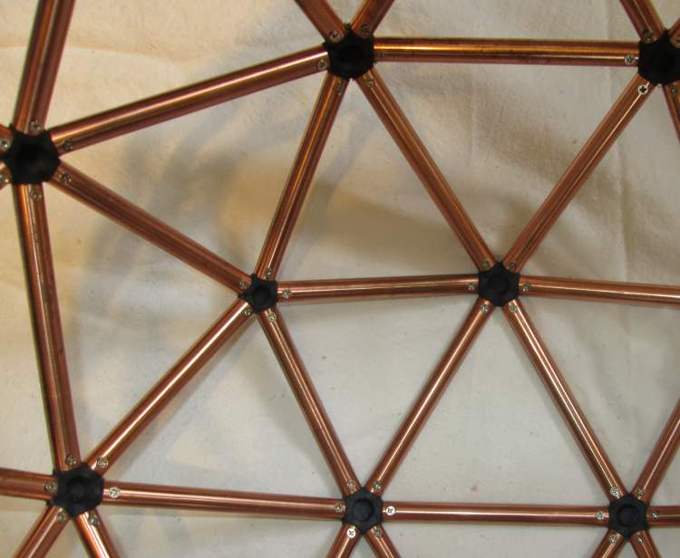 The Two Frequency Icosahedron Or 2V Geodesic Sphere 2 4
